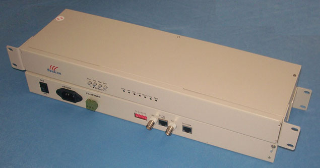 19inch rack mount E1 to ethernet converter